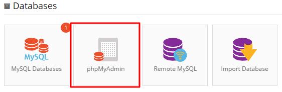 phpmyadmin location hostinger