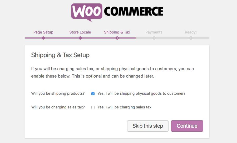 woocommerce shipping tax