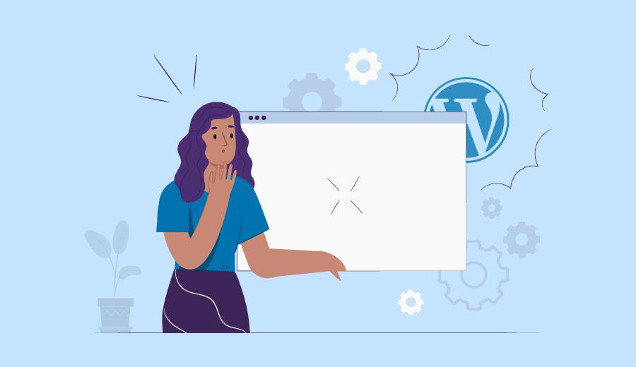 Como Consertar a Tela Branca do WordPress