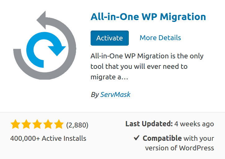 Plugin All in one WordPress
