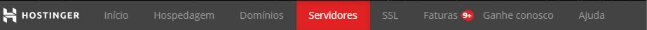 escolher opção de servidores para apontar domínio para vps