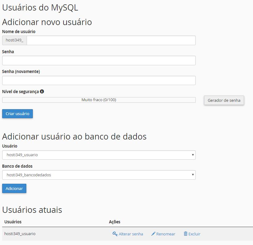 Como corrigir Erro ao Estabelecer uma Conexão com o Banco de Dados no WordPress Usu%C3%A1rios-do-mysql-adicionar-novo-usu%C3%A1rio-cpanel