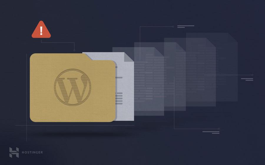 """Como corrigir o erro no WordPress """"Pasta temporária desaparecida"""""""