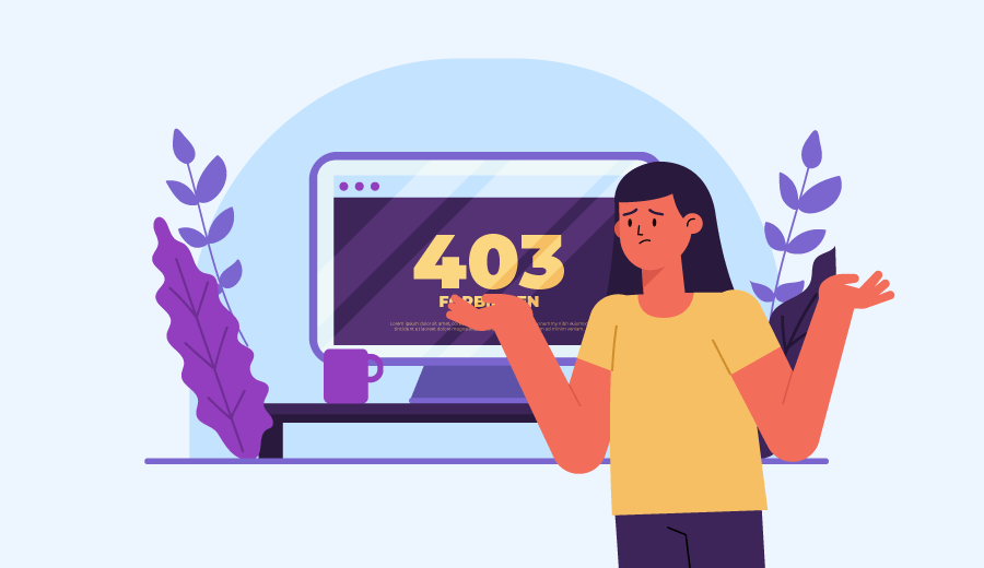 O que significa: 'erro 403 proibido – você não tem permissão de acesso nesse servidor'