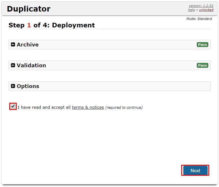 restauração do duplicator para saber como migrar um site wordpress para outro servidor
