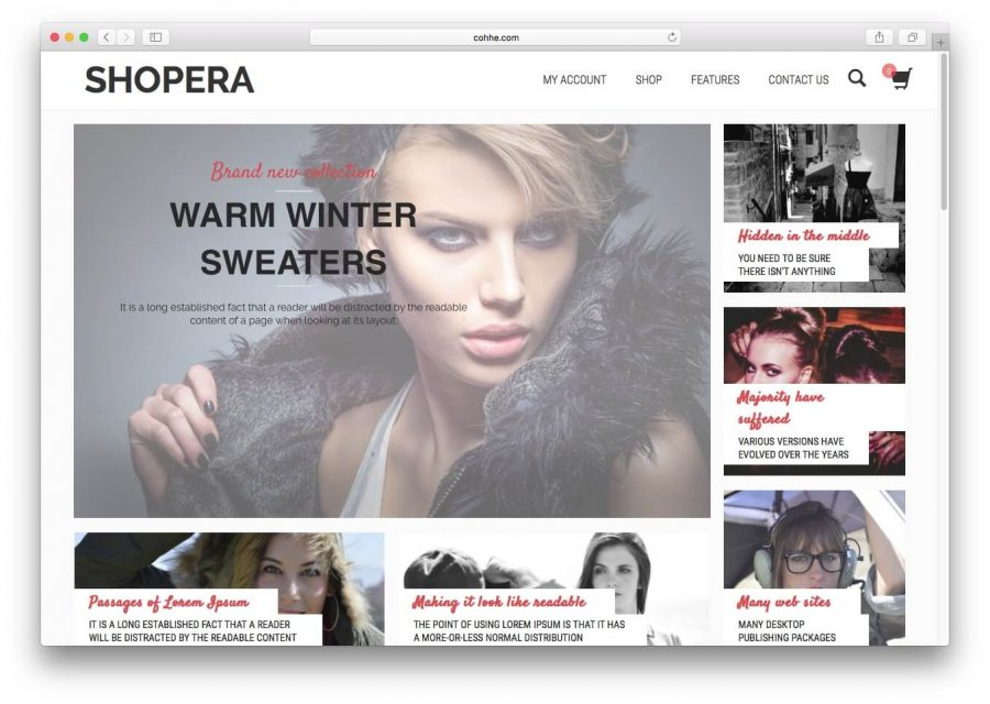 tema shopera para wordpress