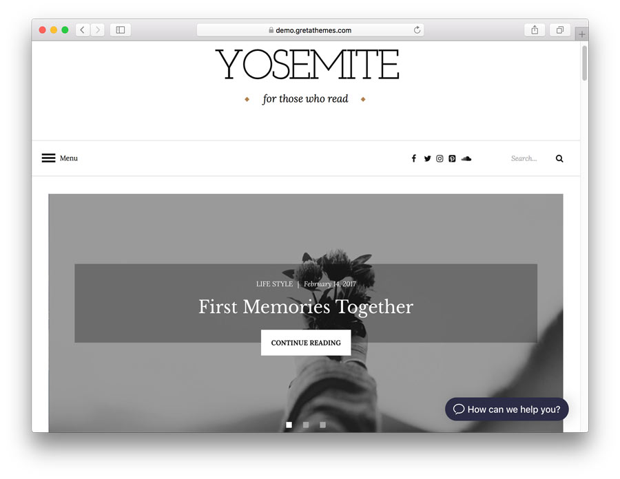 tema yosemite lite para wordpress
