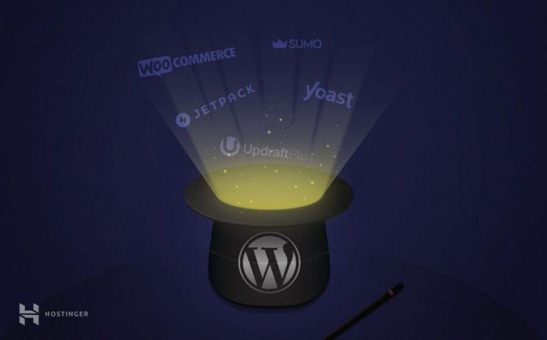 hostinger 13 plugins wordpress
