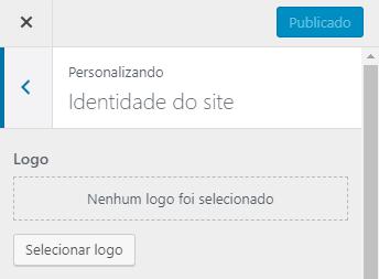 personalizando a identidade do site em busca de logos