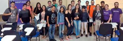 Hostinger participa da semana de ciência, tecnologia e inovação na ufsc