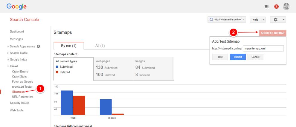 Ferramentas Google Webmasters