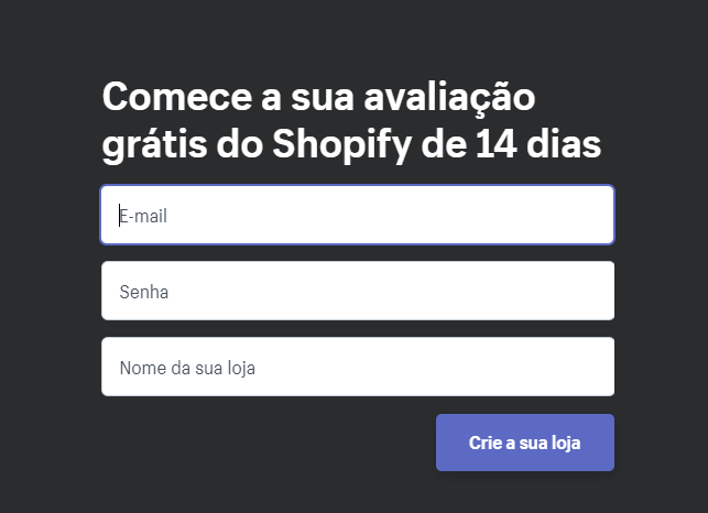 Sign in Shopify