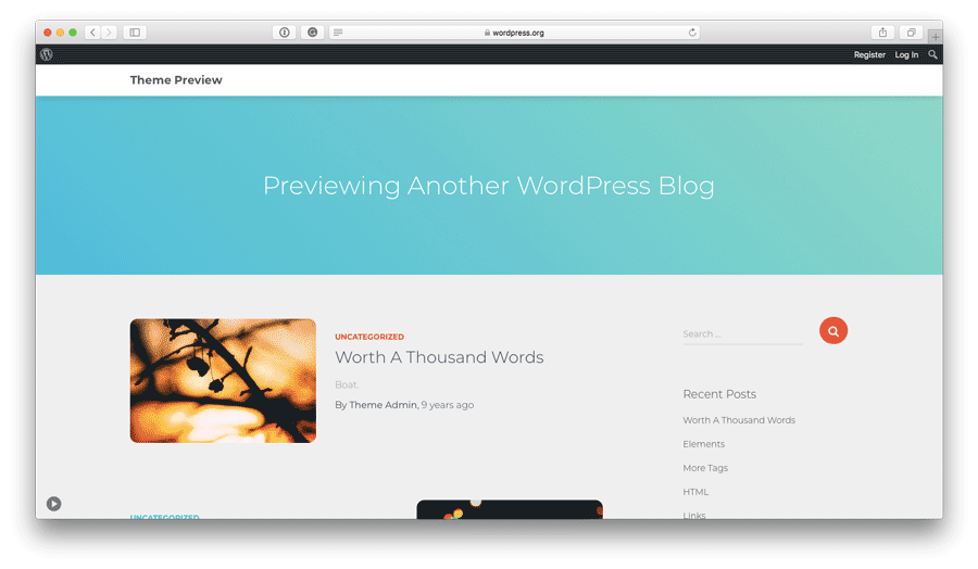 tema orfeo para wordpress