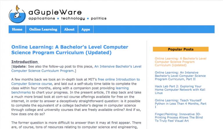 curso online agupieware sobre como programar