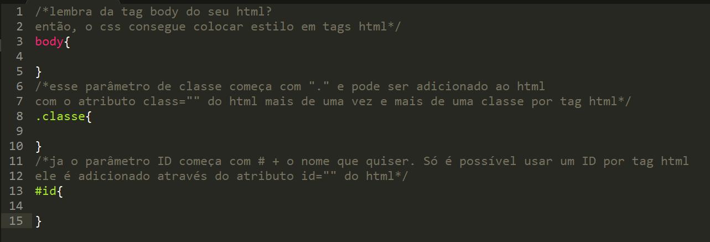Incorporando CSS no HTML