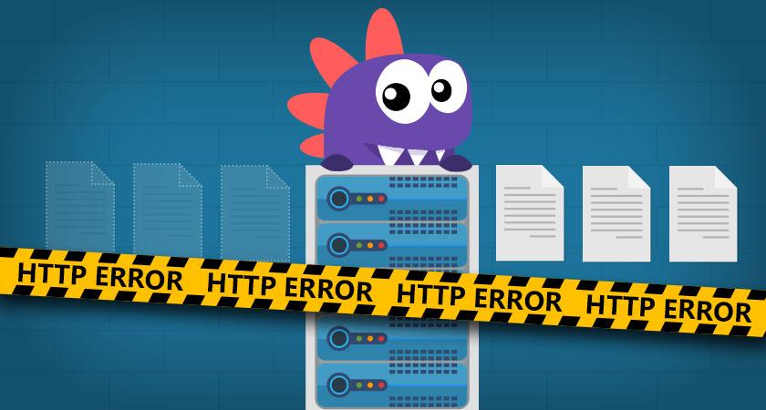Quais os principais erros http?