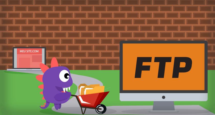 Dragon transporta arquivos e aprende mais sobre FTP