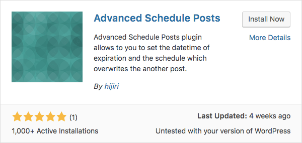 Plugin avançado para agendar posts no wordpress