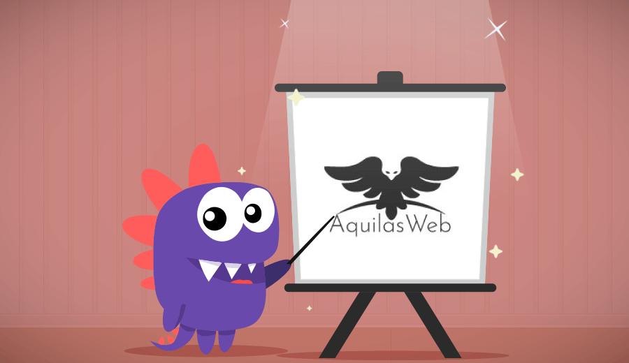 AquilasWeb: Aumentando o fluxo de clientes com a criação de um site