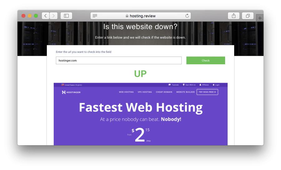 página recarregada após resolver o erro 502 bad gateway