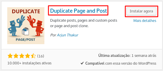 plugin duplicate page and post