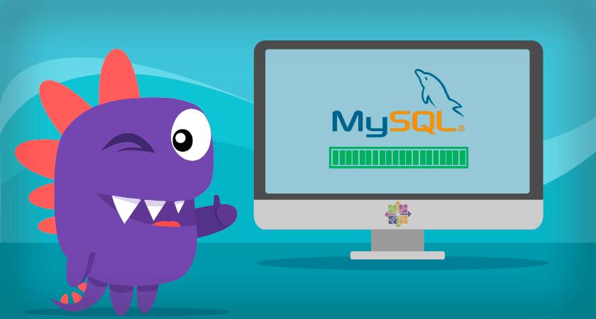 instalar MySQL Conclusão