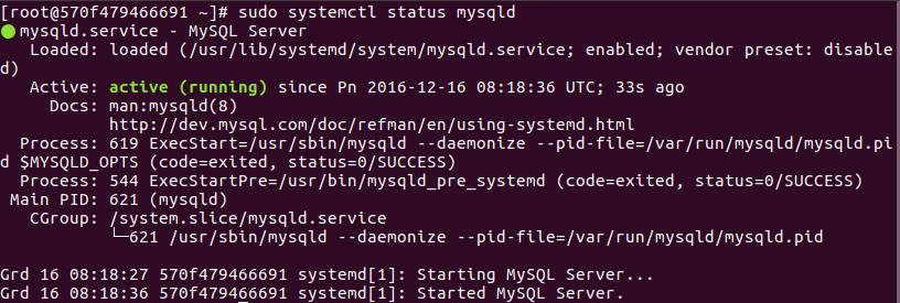 Instalar MyQSL CentOS 7