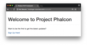 phalcon-homepage