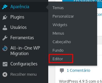 aprenda a como remover o orgulhosamente desenvolvido com wordpress do seu site