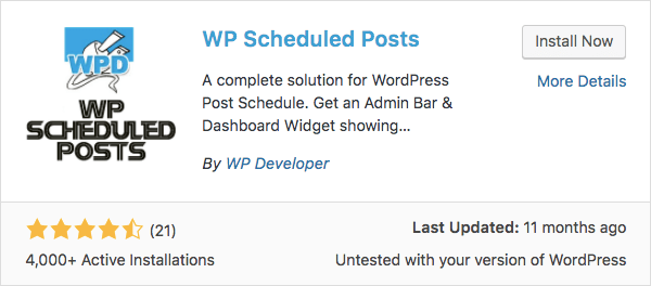 Como agendar posts no WordPress
