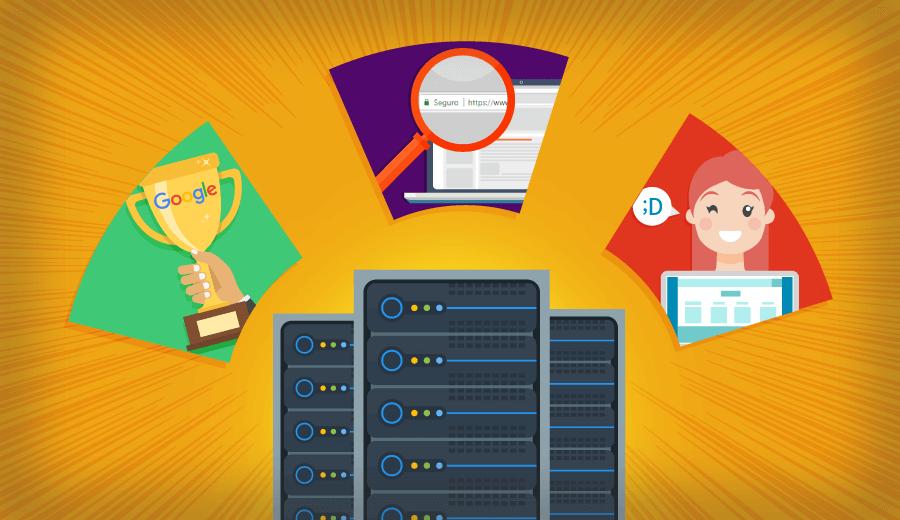 3 benefícios da hospedagem de sites na otimização de conversão do seu site