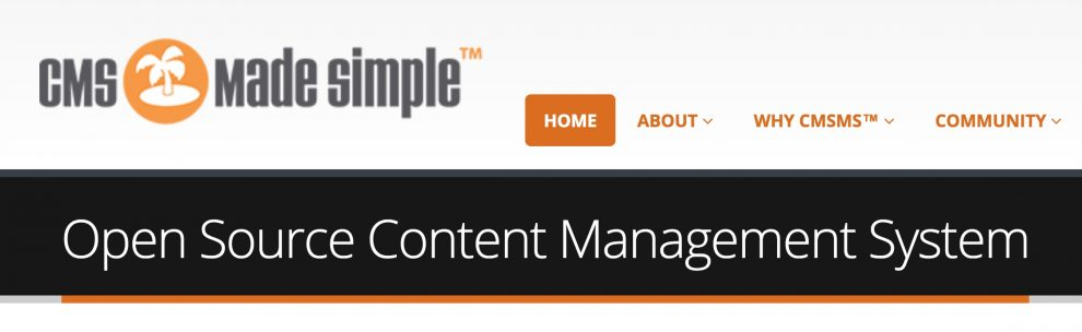 the cms made simple is one of the alternatives to wordpress