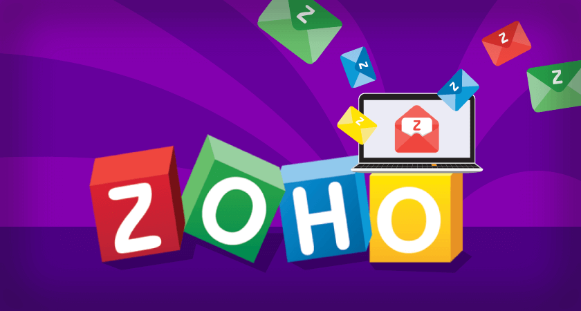 Como configurar Zoho Mail para enviar e receber emails