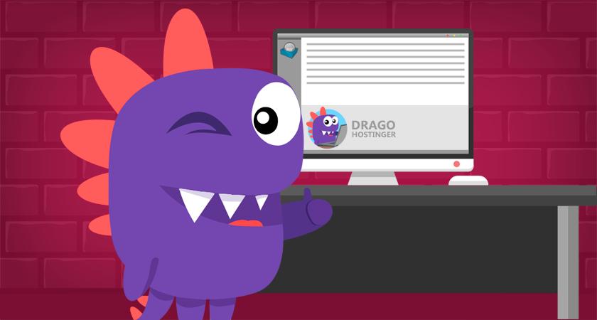 drago ensina como criar uma assinatura de email no seu cliente webmail