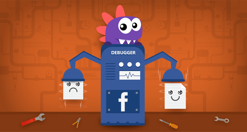 Como usar o debug do facebook