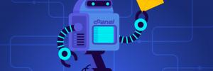 robô segura mensagem para enviar após criar uma resposta automática de recebimento de email