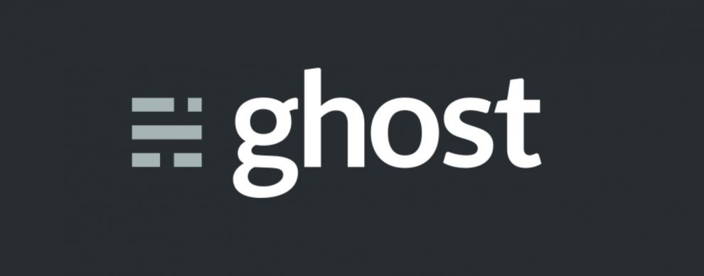 the ghost is one of the alternatives to wordpress