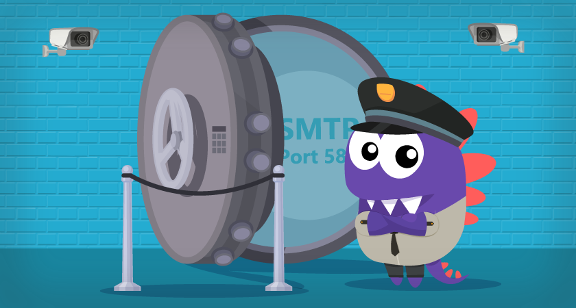 Como verificar se a porta SMTP 587 não está bloqueada