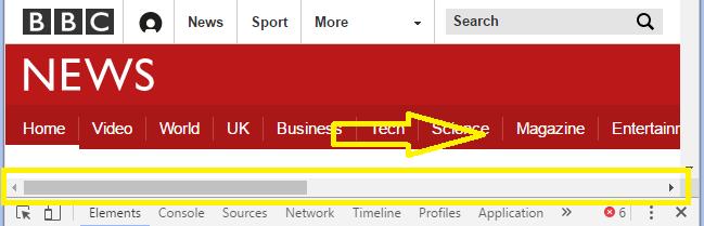 exemplo de site não responsivo e que você deve evitar para criar site responsivo