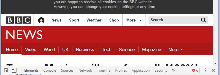 veja como criar site responsivo como o da bbc