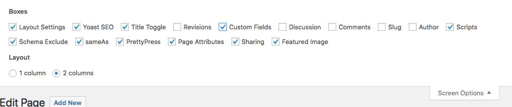 opção de campos personalizados para adicionar schema markup no wordpress