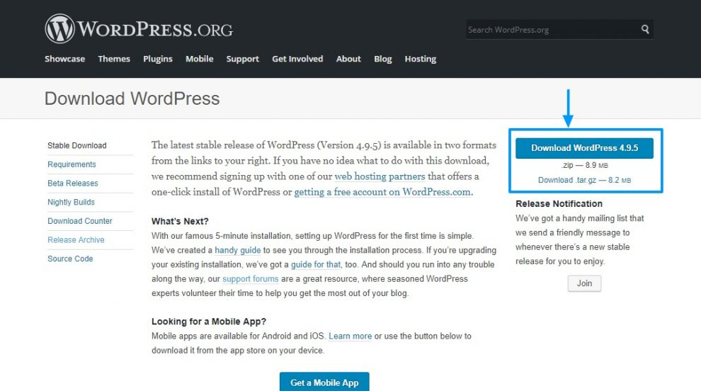 wordpress-download