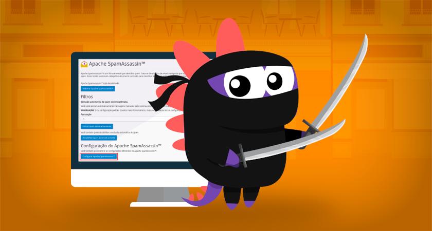 Como configurar apache spamassassin para bloquear spam