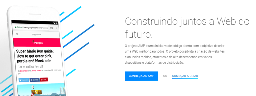 print the homepage of AMP