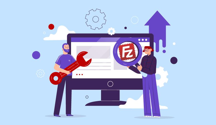 Como Configurar o Cliente FileZilla