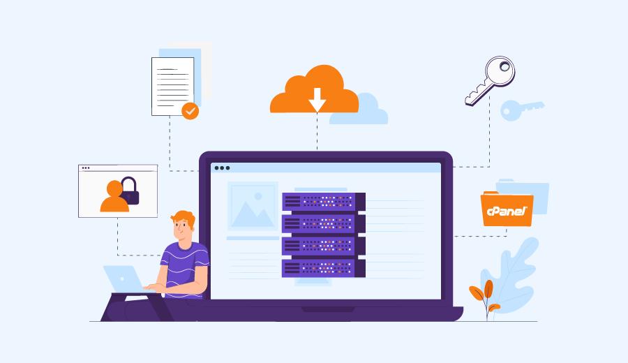 Como transferir backups completos do cPanel para uma VPS