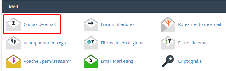 informacoes do servidor de email no Gmail