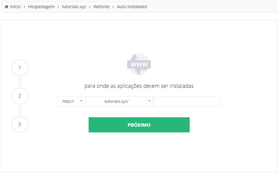 Instalando WordPress na Hostinger