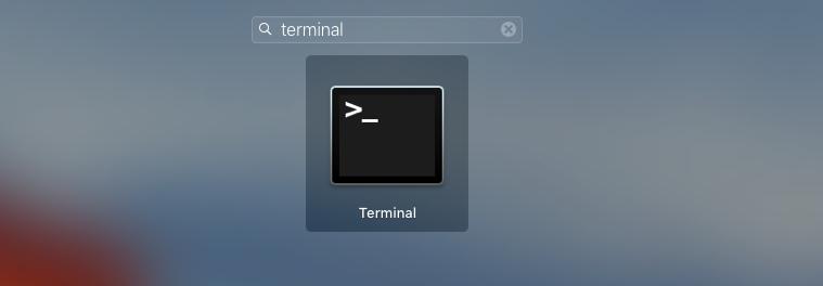 abrindo terminal no mac