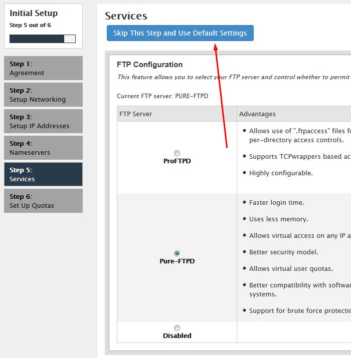 outros serviços que você pode configurar e usar na vps